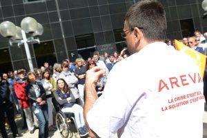 Mobilisation en vue chez Areva
