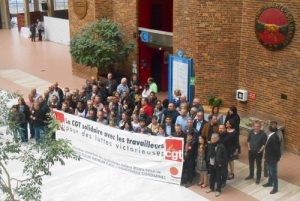 Soutien de la CGT aux syndicalistes emprisonnés