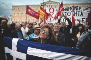 Potion amère pour la Grèce