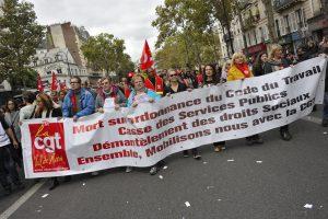 Six syndicats mobilisent contre la politique libérale