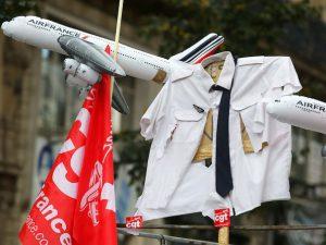 Procès Air France: triple peine pour quatre ex-salariés