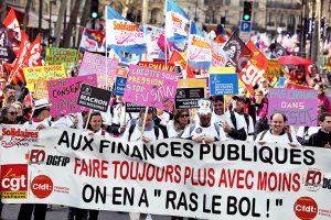 L'intersyndicale des finances mobilisée pour la qualité du service public