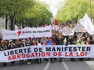 Mobilisation contre la loi «anticasseurs», dans toute la France