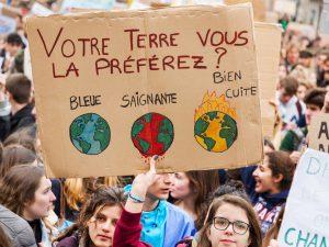 Manifestation et grève pour le climat: la CGT répond présent