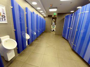 Le personnel des relais toilettes des gares SNCF parisiennes est en grève