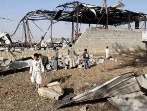 Sur le Yémen, vente d'armes et dénégations d'État