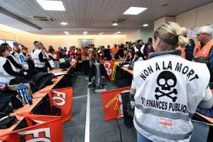 Les agents des finances publiques en grève pour dire leur «ras-le-bol»