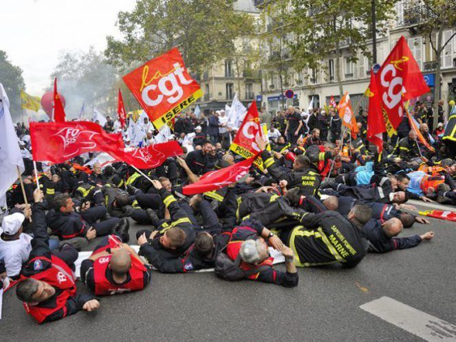 Pompiers, hospitaliers : mêmes urgences, même manif