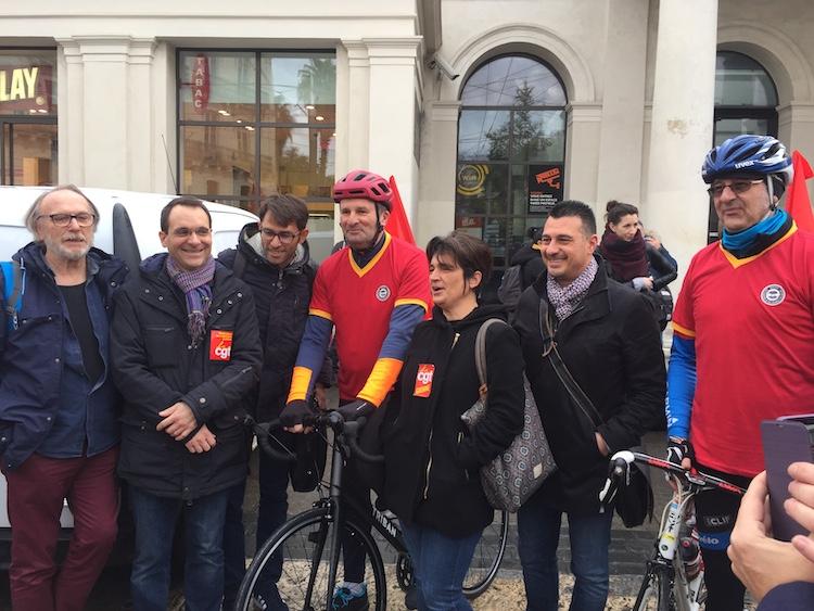 Montpellier-Paris : 904 km à vélo afin de mobiliser pour le 5 décembre