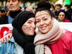 Un 10 novembre multicolore contre l'islamophobie