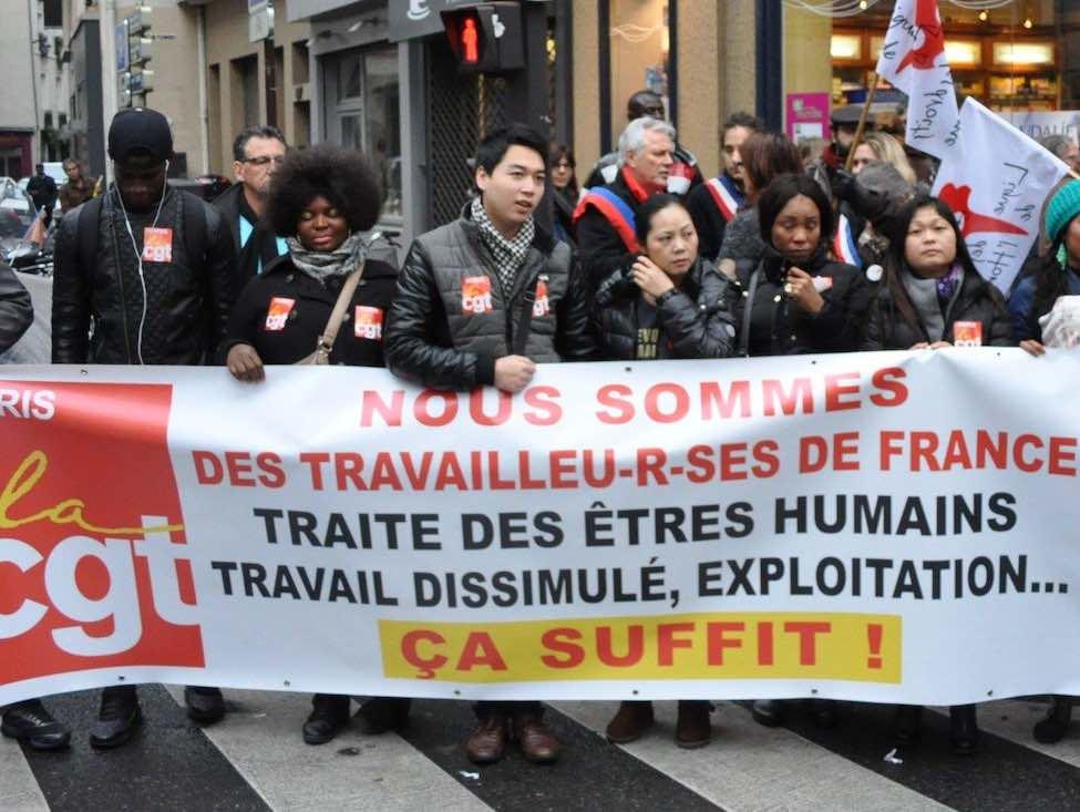 La traite des êtres humains, un combat syndical