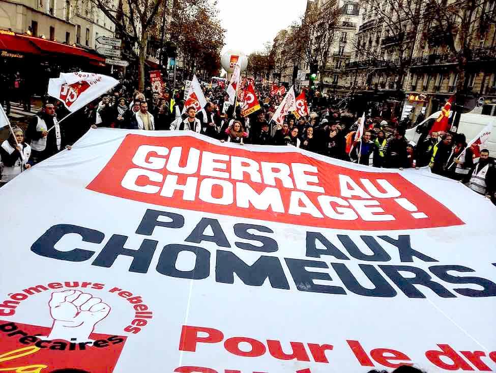 Manifestation des privés d'emploi du 7 décembre : pour stopper la politique anti-chômeurs !
