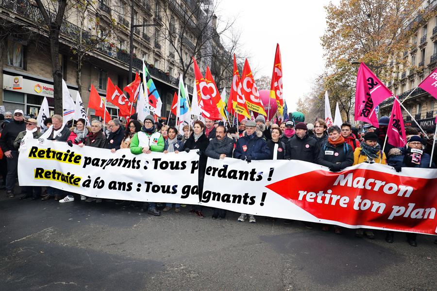 Nouvelle journée d'action contre la réforme des retraites le 20 février