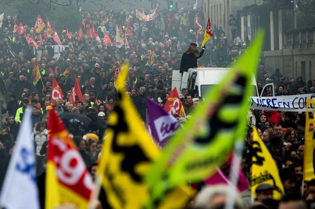 Nouvelle journée de grève et de manifestations ce mardi 10 décembre