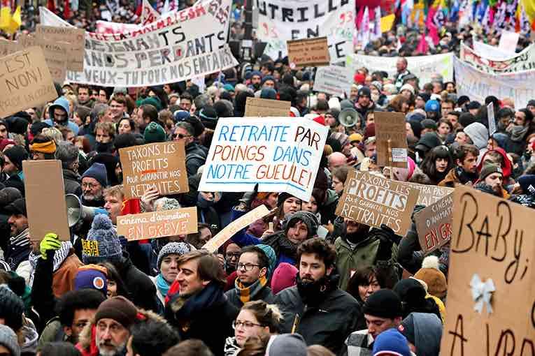 L'intersyndicale appelle à une nouvelle journée de grève et manifestations le 10 décembre