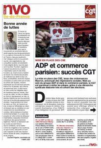 URIF 3584 - ADP et commerce parisien : succès CGT