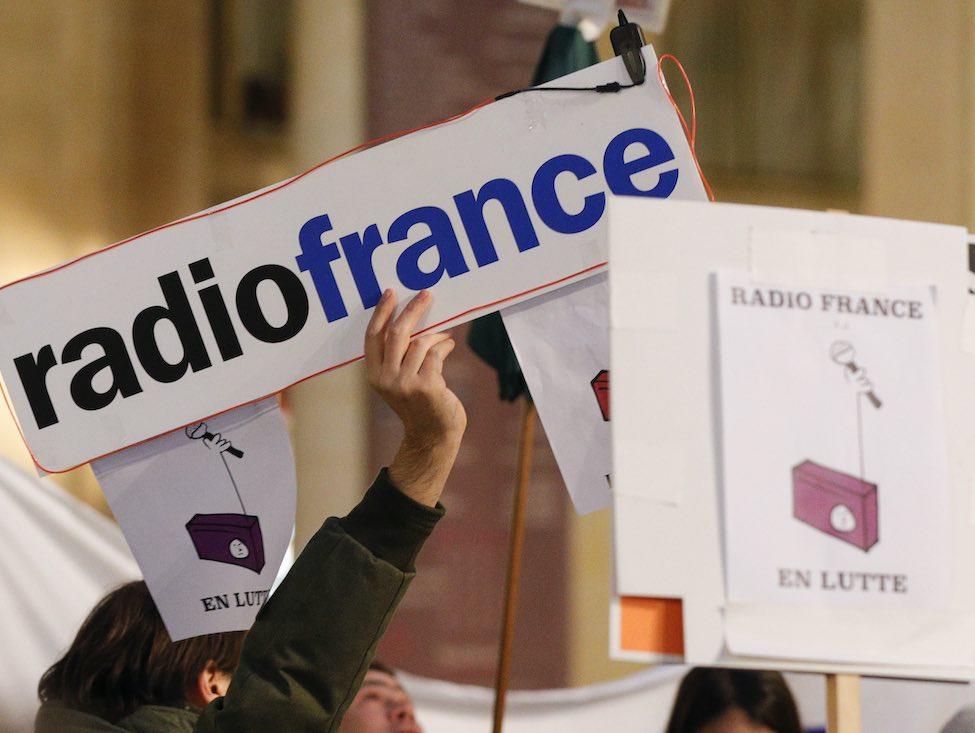Radio France se mobilise contre des coupes dans les effectifs