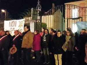 Occupation nocturne au centre des impôts de Château-Thierry
