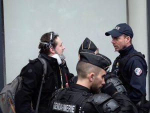 Un journaliste arrêté à la manif parisienne contre la réforme des retraites