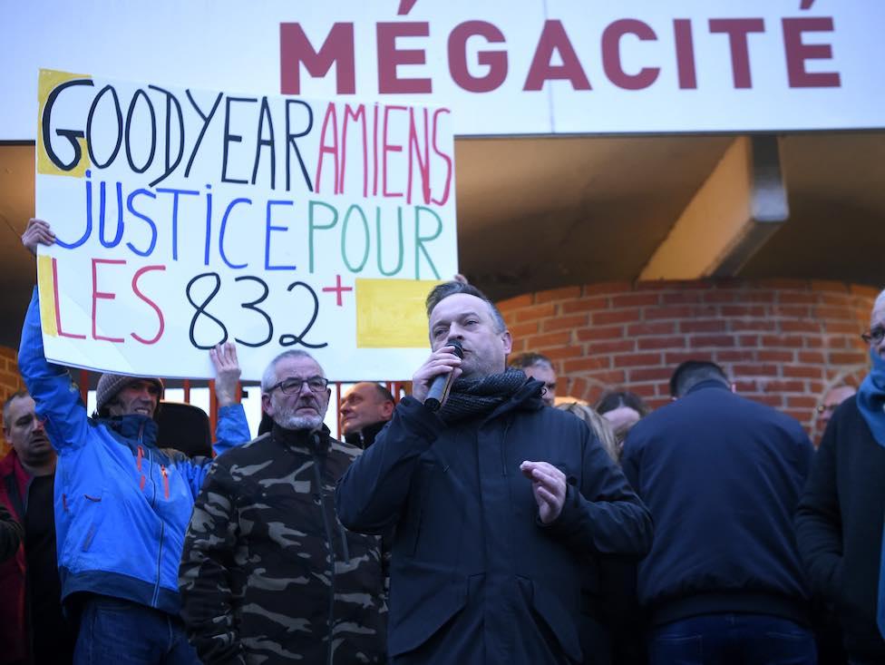 832 salariés de Goodyear Amiens réclament justice