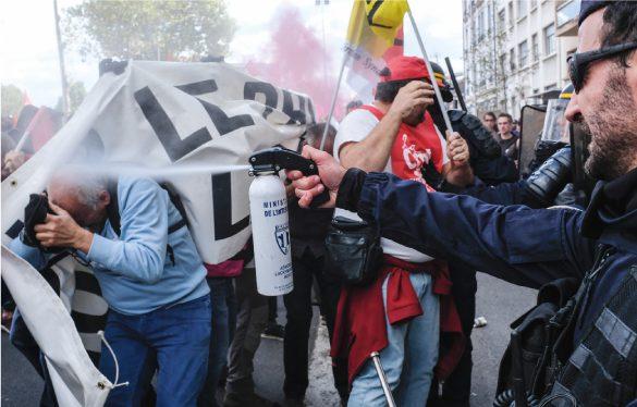 NVO - La Nouvelle Vie Ouvrière le magazine des militants de la CGT violences policières