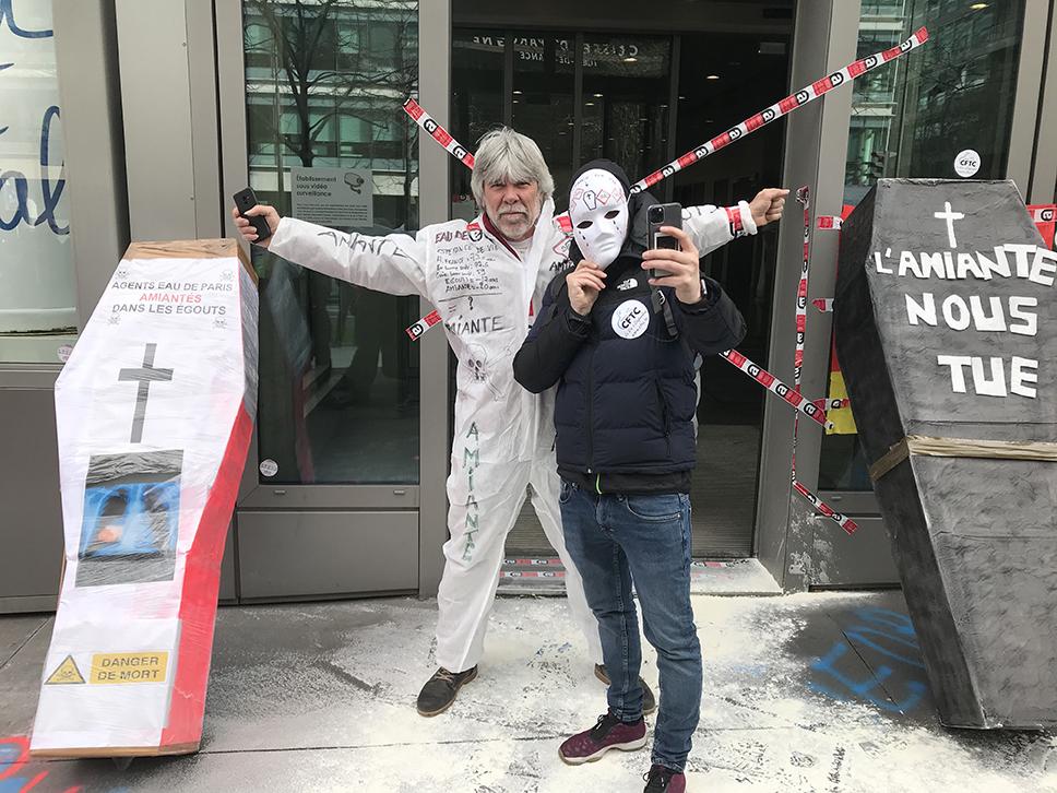 Eaux de Paris : grève illimitée pour la compensation du risque amiante