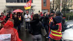 Enghien-les-Bains : La CGT se mobilise pour défendre deux militantes