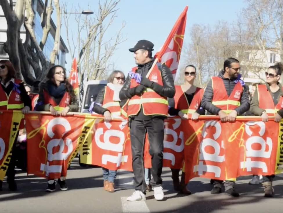 Dixième journée d'action contre la réforme des retraites après deux mois et demi de mobilisation