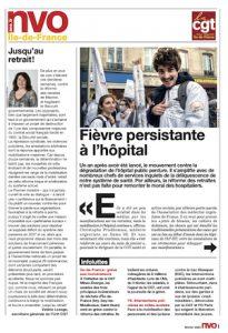 URIF 3586 - Fièvre persistante à l'hôpital