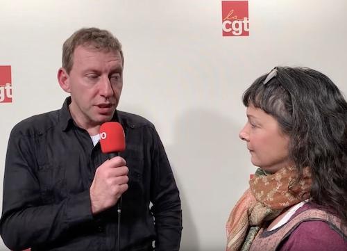 Cédric Quintin, secrétaire UD CGT du Val-de-Marne