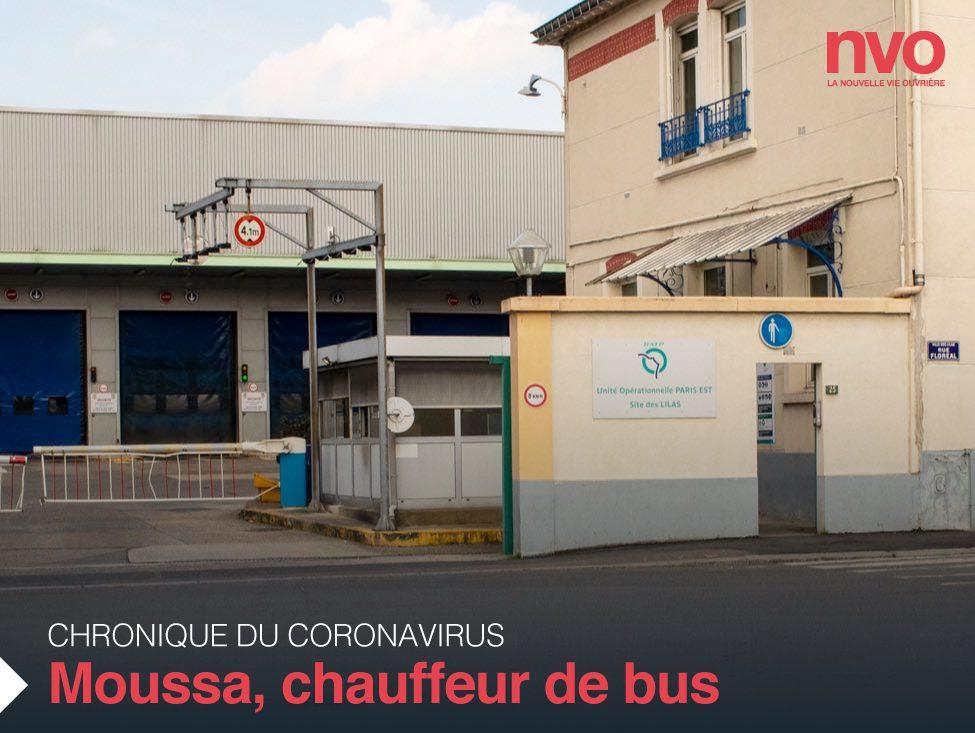 Chroniques du coronavirus : Moussa, chauffeur de bus