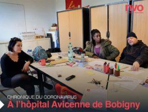 Chroniques du coronavirus : Lucie et ses collègues hospitaliers d'Avicenne