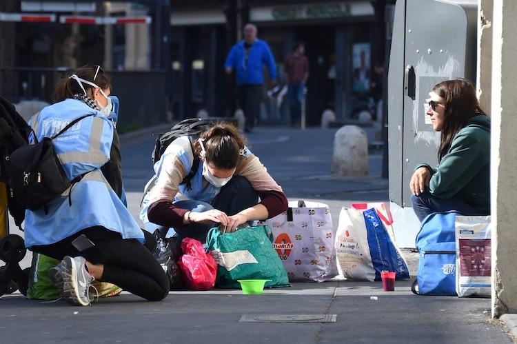 Les personnes sans abris sont ultra-vulnérables