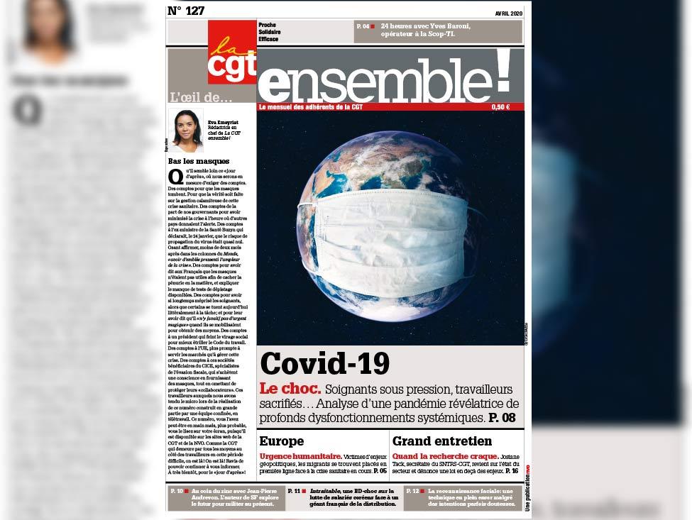 Retrouvez le numéro 127 d'avril 2020 du magazine Ensemble !
