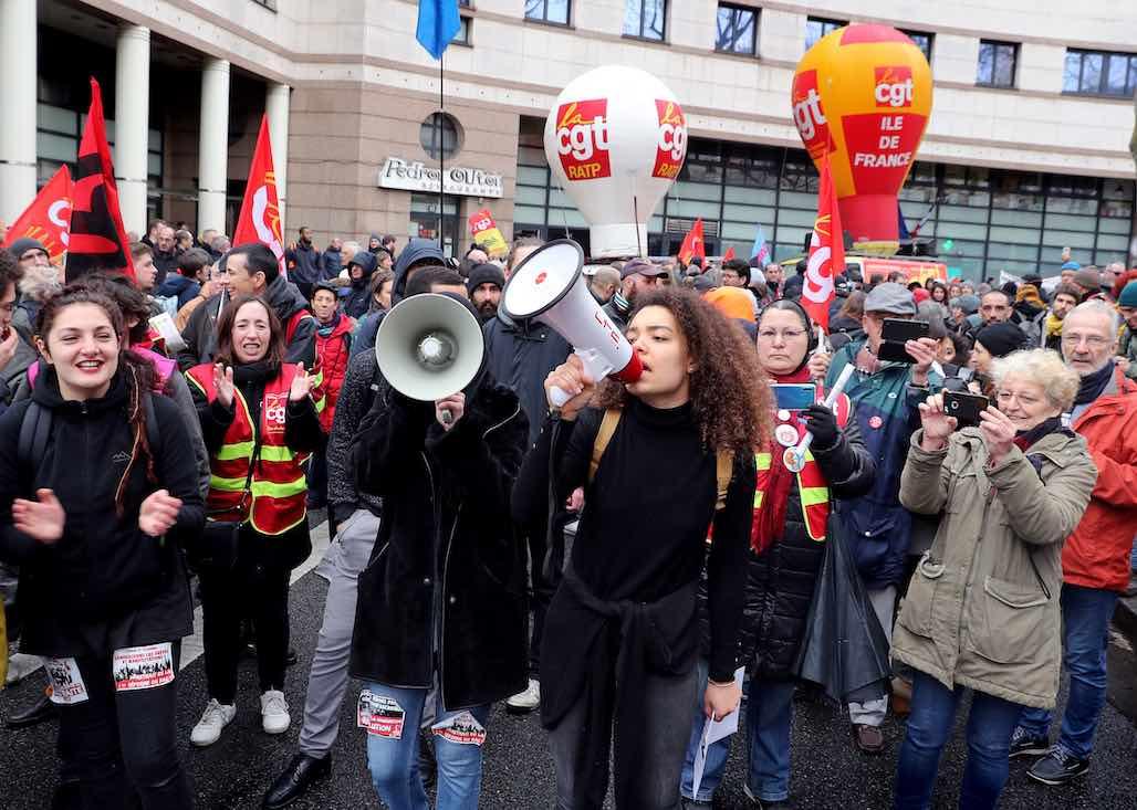 RATP : 300 manifestants contre la criminalisation de l'action syndicale