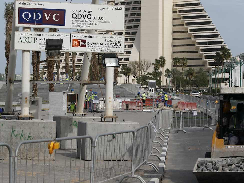 Coupe du monde de foot au Qatar : Vinci épinglé pour travail forcé dans la construction des stades
