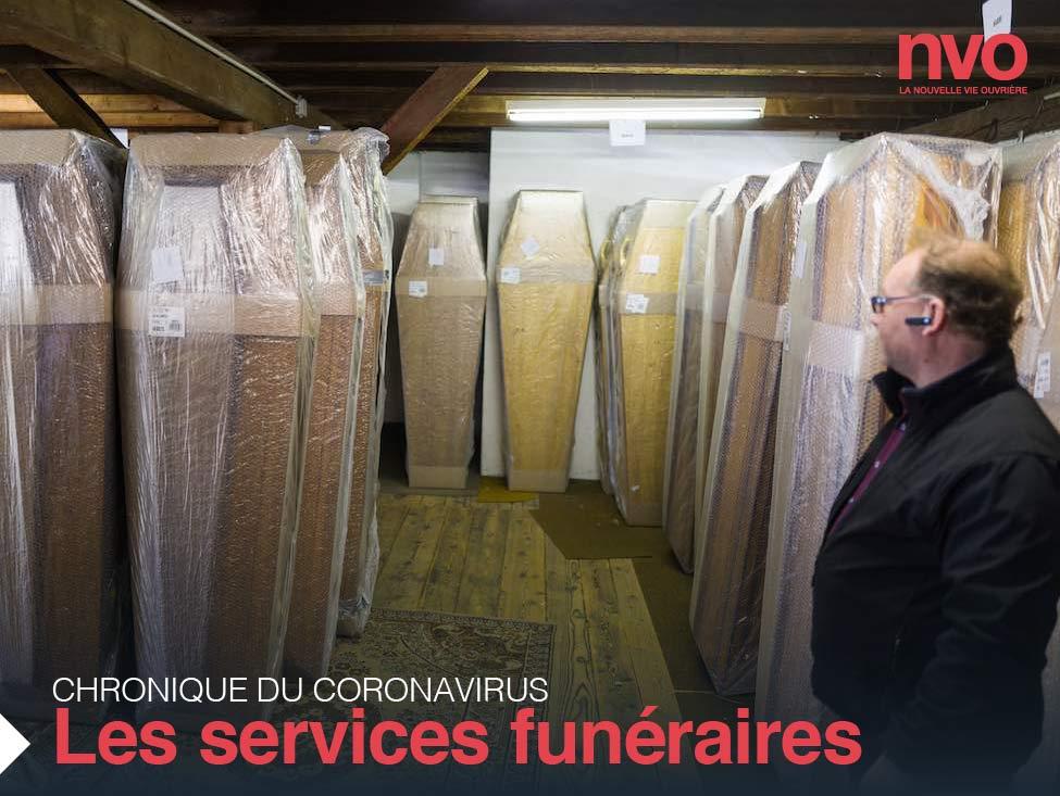 Chroniques du coronavirus : les services funéraires, oubliés de la « première ligne »