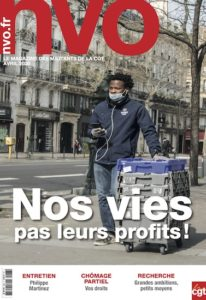NVO, la Nouvelle Vie Ouvrière, le journal de l'actualité sociale, syndicale et juridique des militants de la CGT