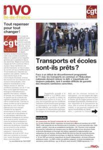 URIF 3589 - Transports et écoles sont-ils prêts?