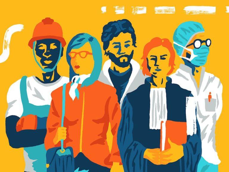 NVO, la Nouvelle Vie ouvrière, le magazine des militants de la CGT