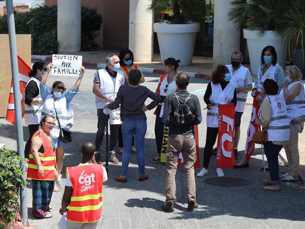 Débrayages dans des Ehpad Korian, promesse d'une prime de 1 500 euros en juillet