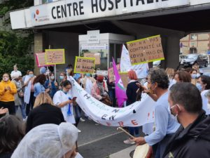 Essonne : pas de retour à l'anormal pour les héros de la santé mobilisés le 16 juin