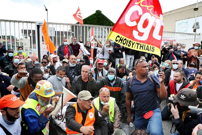 Les salariés du site de Choisy-le-Roi s'étaient mis en grève le mardi 2 juin.