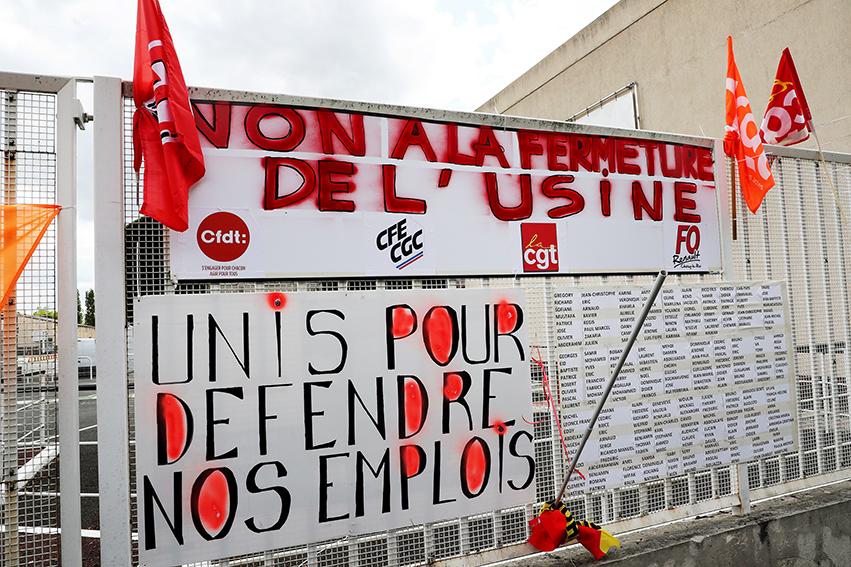 «Non à la casse du moteur d'emploi»: manifestation à Choisy-le-Roi pour défendre l'usine Renault