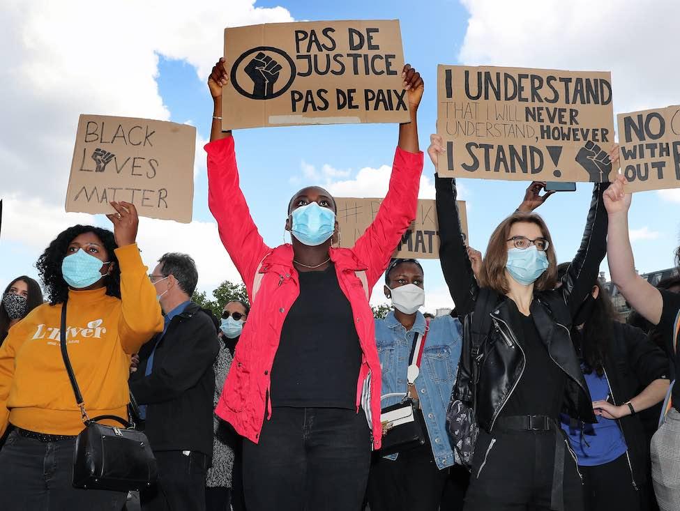VIDÉO Manifestation contre le racisme et en hommage à George Floyd : « Ce sont les combats de la CGT »
