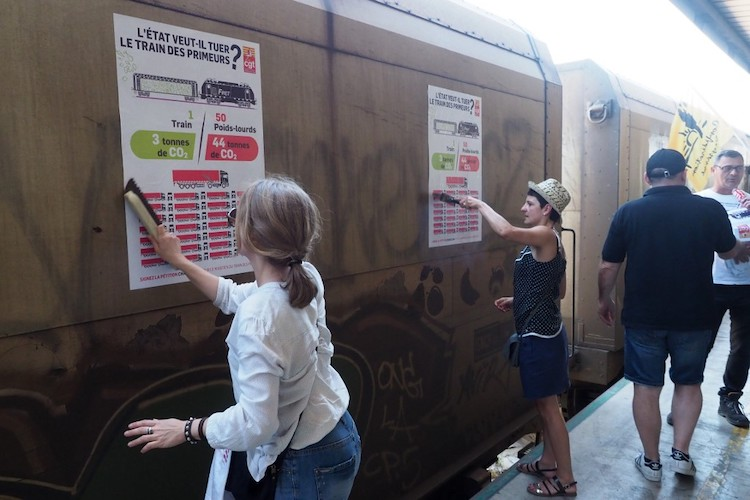 La CGT fait des propositions pour relancer le fret ferroviaire