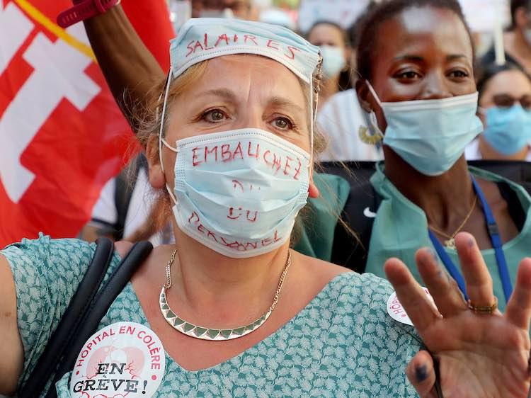 Vidéo : Mobilisations partout en France contre les suppressions d'emplois et pour les salaires