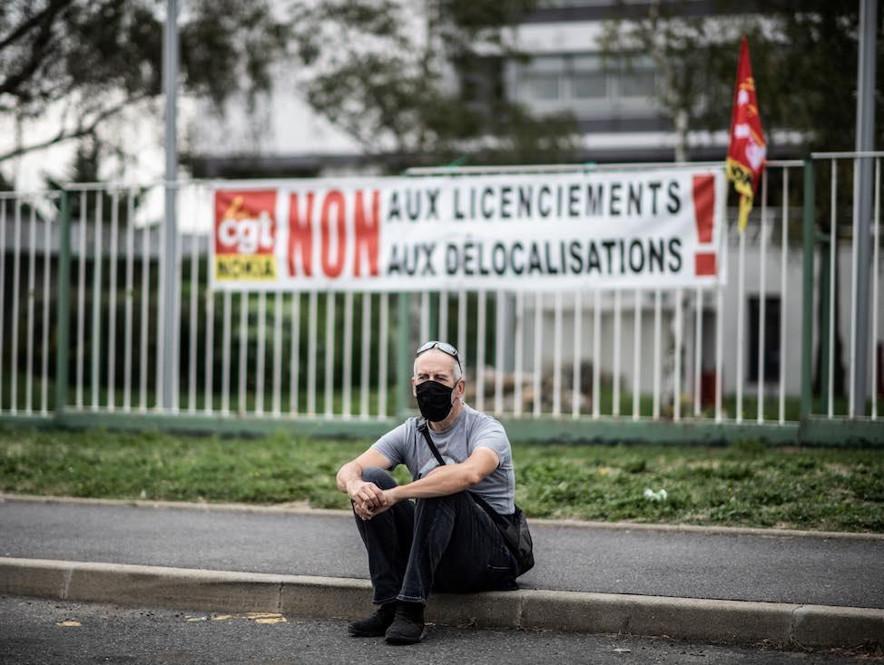 Nokia : La lutte se poursuit à Nozay, en Essonne