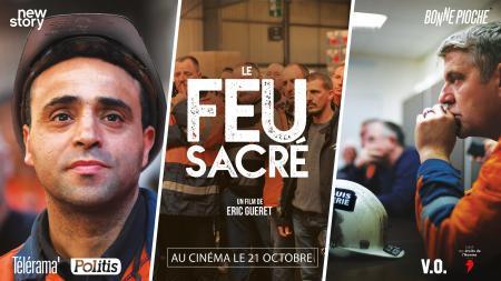 Vidéo - Rencontre avec Eric Guéret à propos de son film Le Feu Sacré