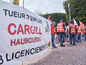 Cargill : dividendes records, licenciements massifs à l'usine d'Haubourdin